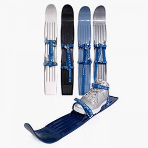 Tundra wolf mini skis