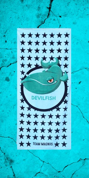 Devilfish swim towel