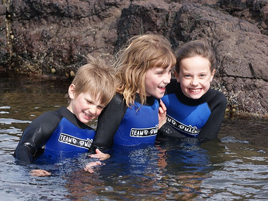 2011 - First 5mm wetsuit trials