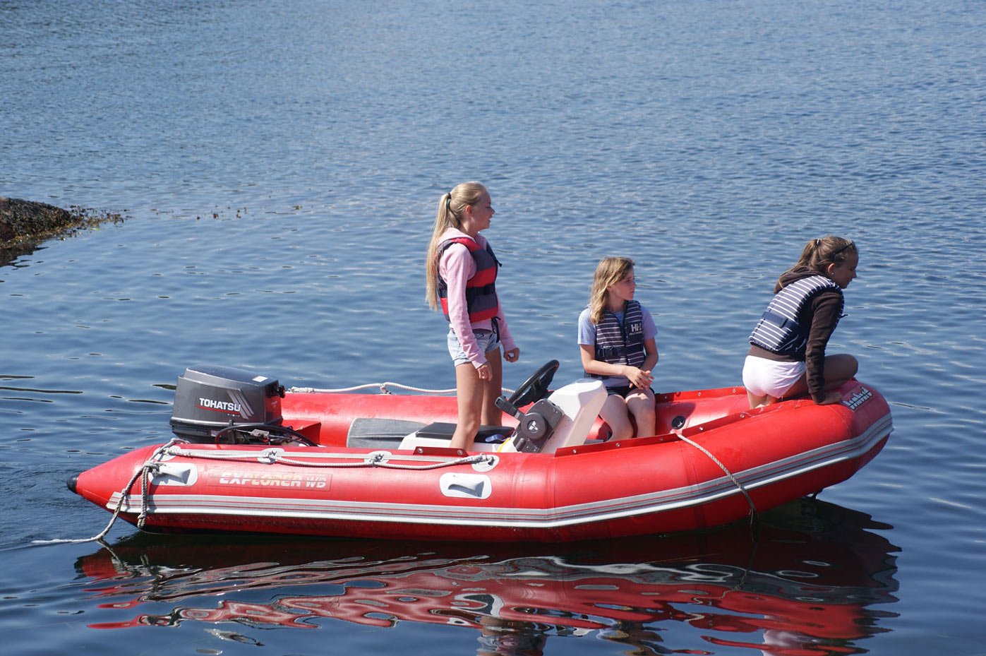 Trusting kids with boats