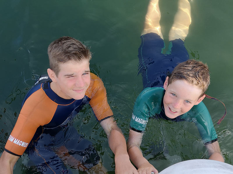 Kids' wetsuits for cold water - the science